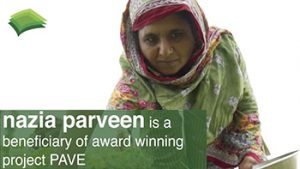 Project PAVE - Nazia Parveen